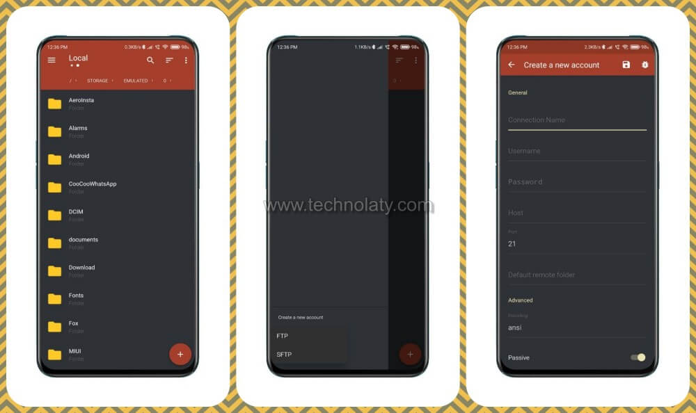 FTP Client App For Android