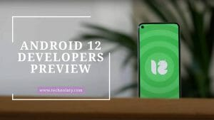 Android 12 Developers Preview Image