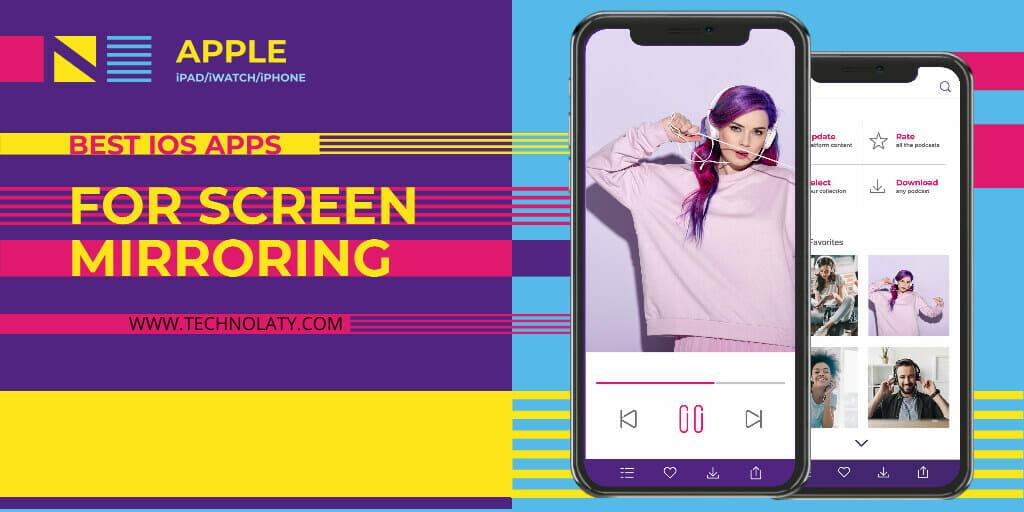 apple screen mirroring apps