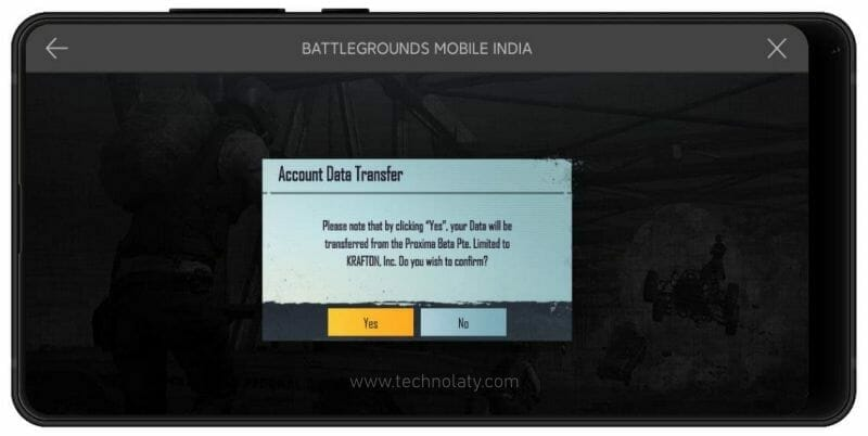 PUBG To Battlegrounds Mobile India Account Data Transfer