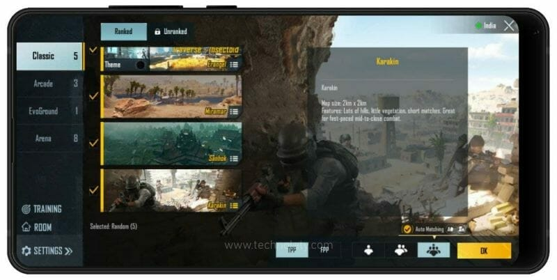 Battlegrounds Mobile India Maps Download