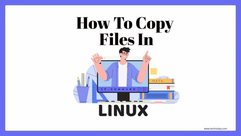 Command to copy files in Linux