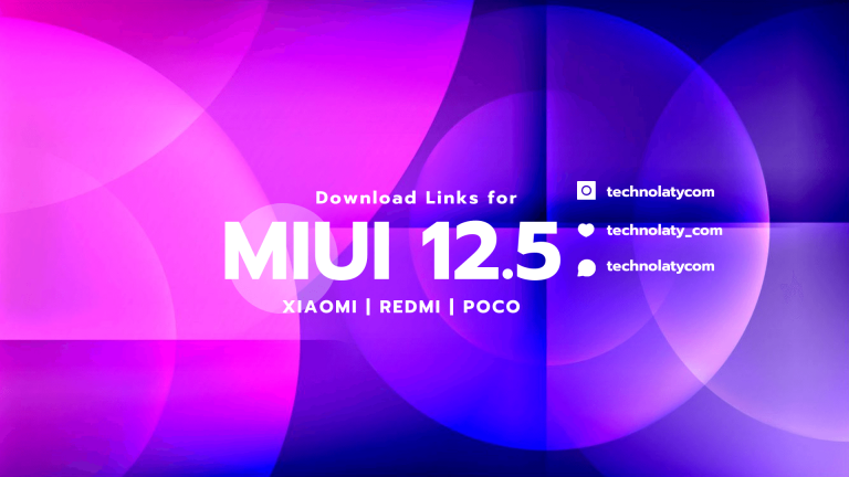 Download Links For MIUI 12.5