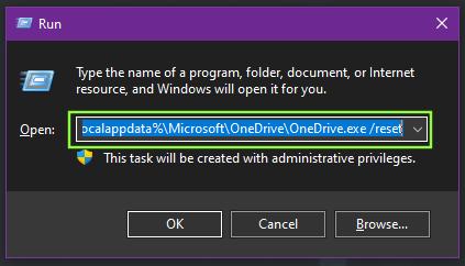 Fix OneDrive Error Code 0x80070185