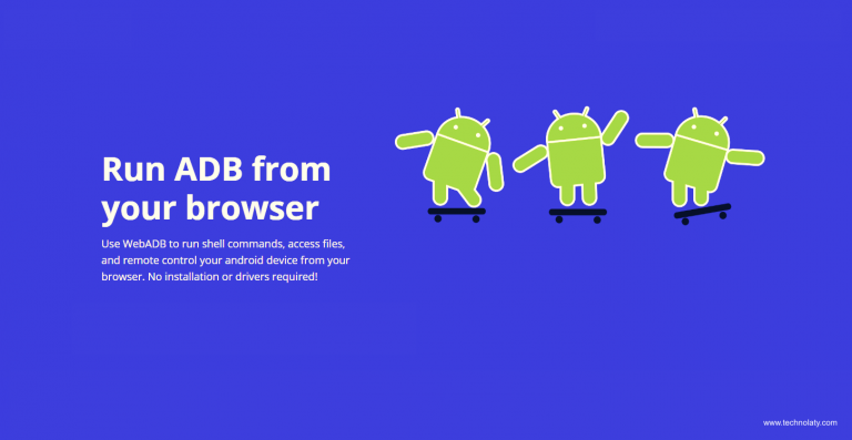 Run ABD From Browser